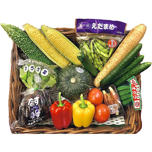 真夏の野菜オールスターズ
